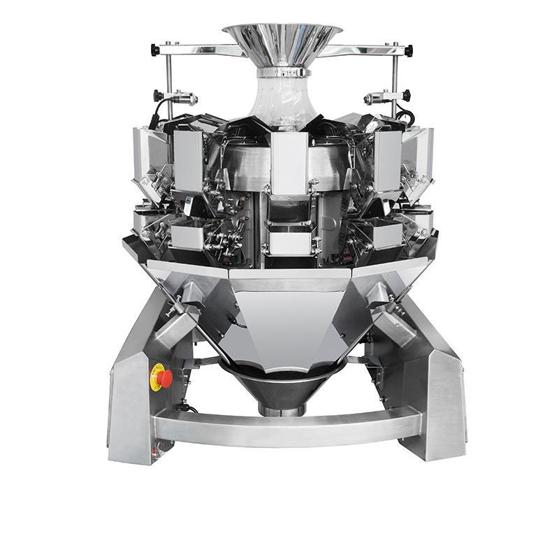 آلة تعبئة وتغليف أوتوماتيكية متعددة الوظائف ذات 10 رؤوس متعددة الرؤوس