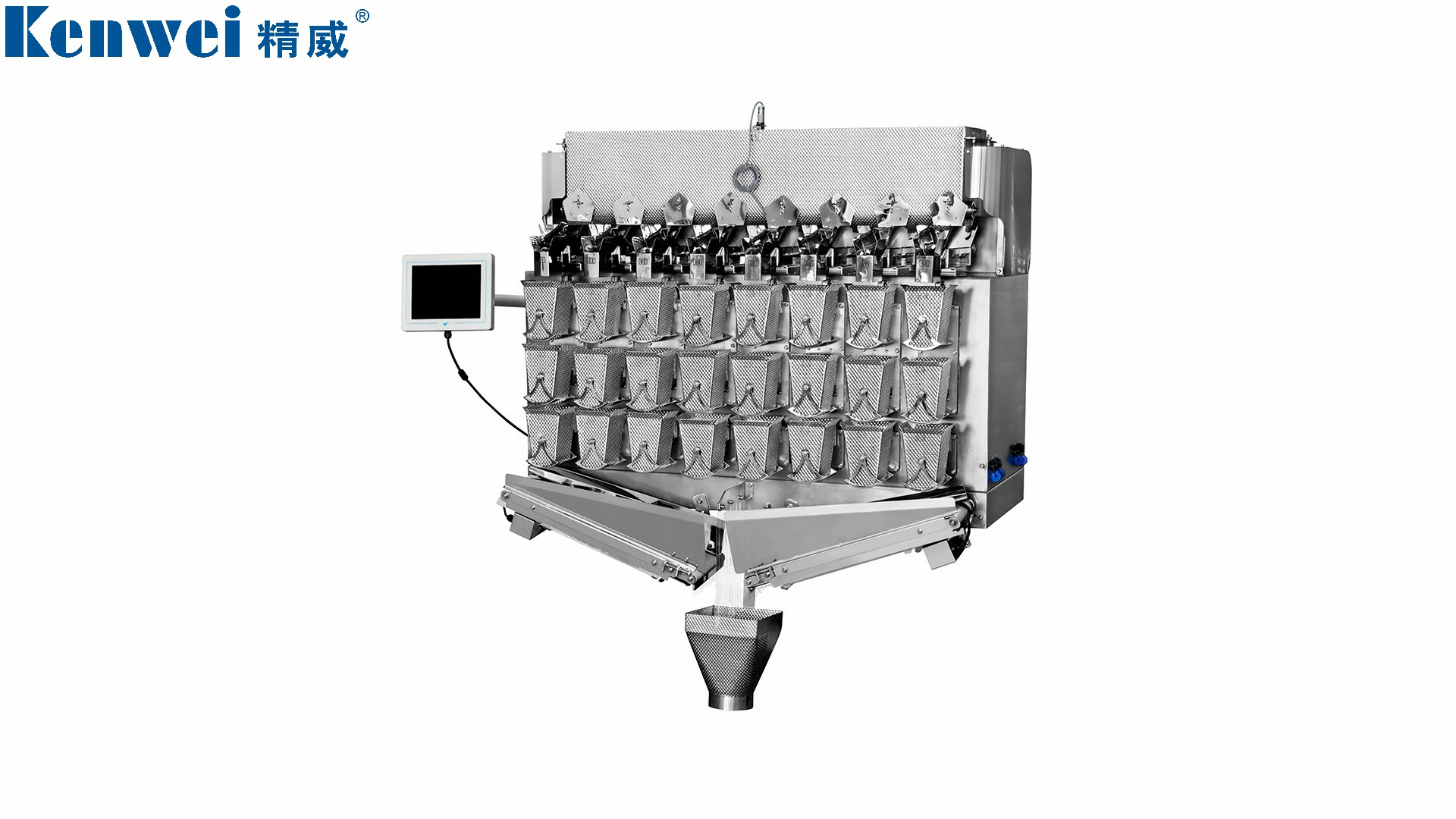 Kenwei-Screw feeding weigher for weighing beef  60g  30bags/min