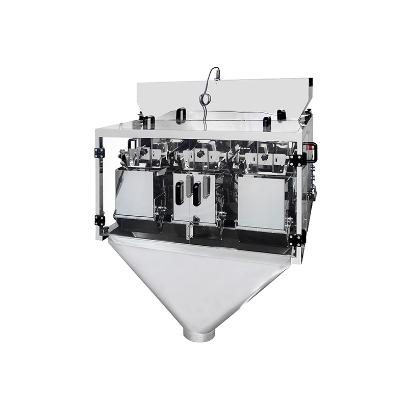 product-3 head linear weigher packaging machine for weighing small granules-Kenwei -img