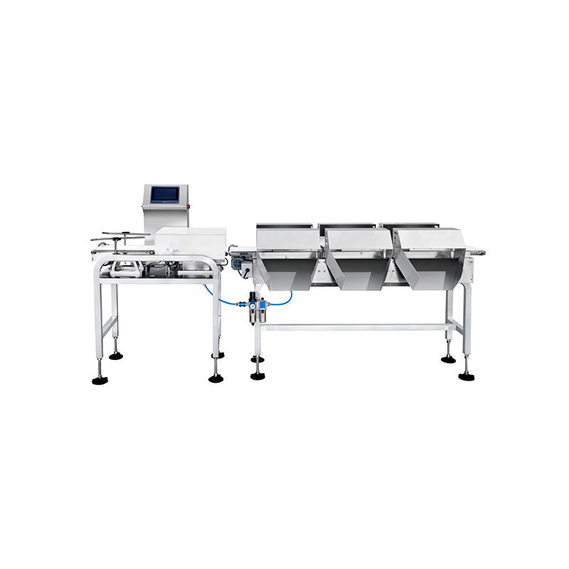 Multi-level check weigher machine for sorting agricultural industy