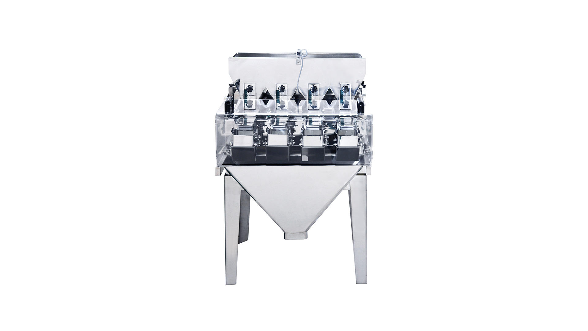 Mini 4 head linear weigher with 0.5L hopper JW-AXS4