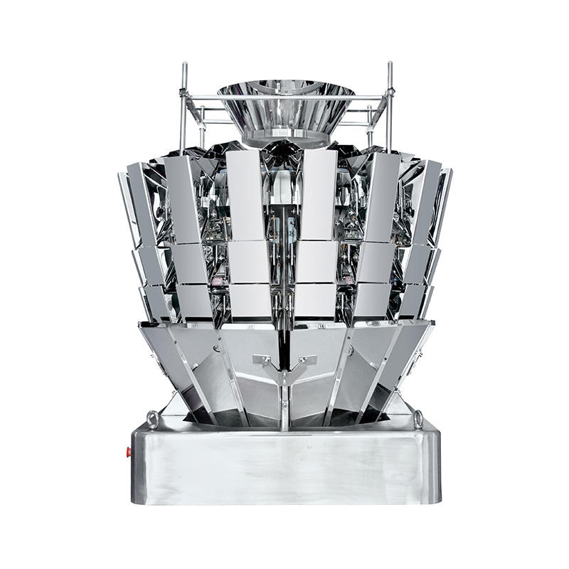 High Speed 16 Head Multi Head Weigher with New Memory Bucket