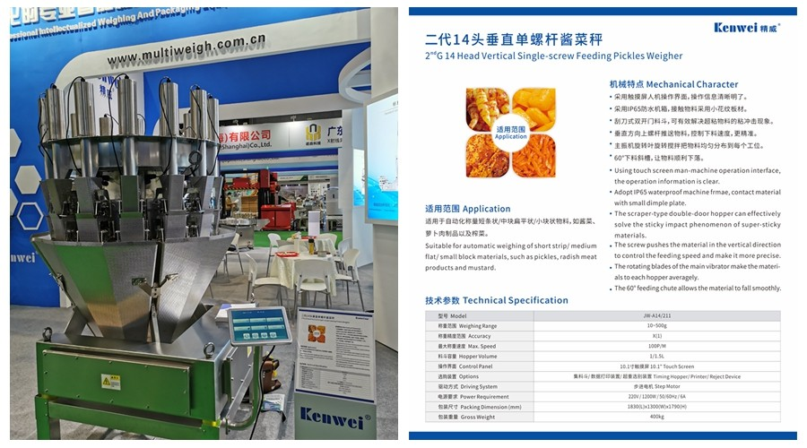 news-Guangdong Kenwei Intellectualized Machinery Co,Ltd Will Participate in the 2020 FOODPACK CHINA-