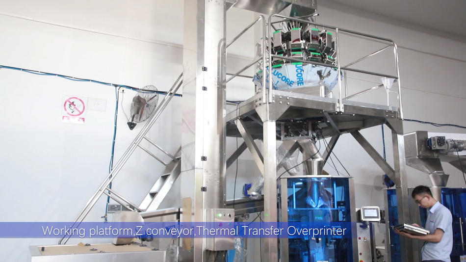 JW-B1 Kenwei standard vertical weighing and packing system