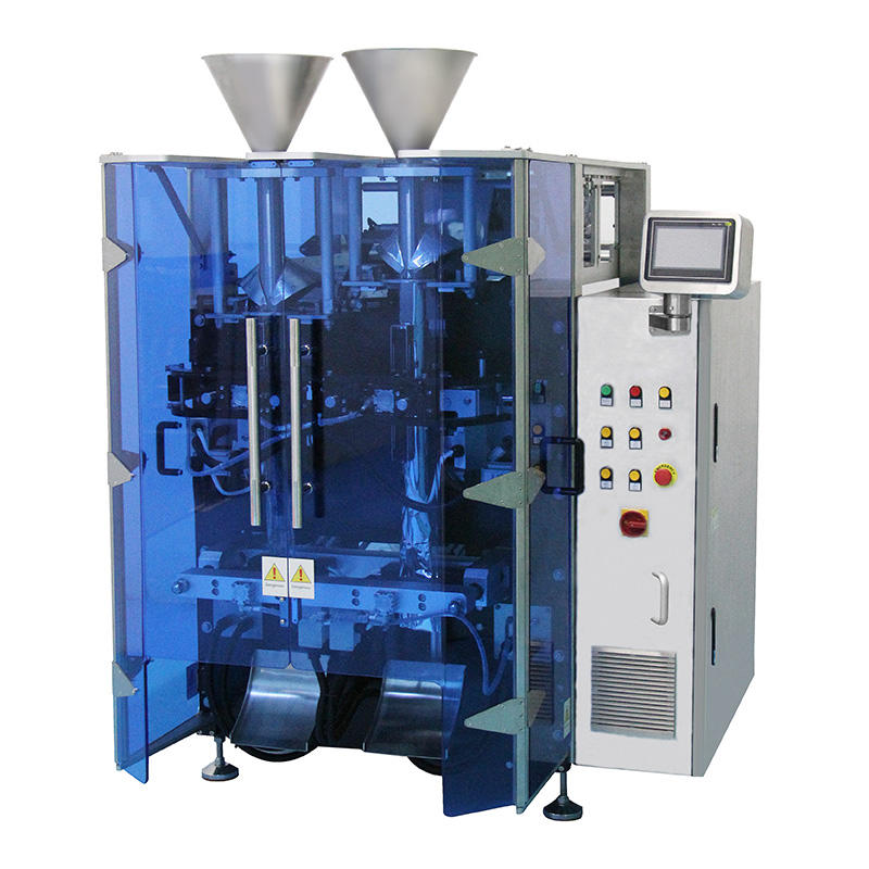 Double filling vffs packaging machine