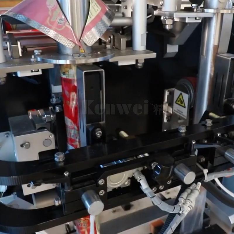 Marque de machine d'emballage à vide vertical Kenwei-4