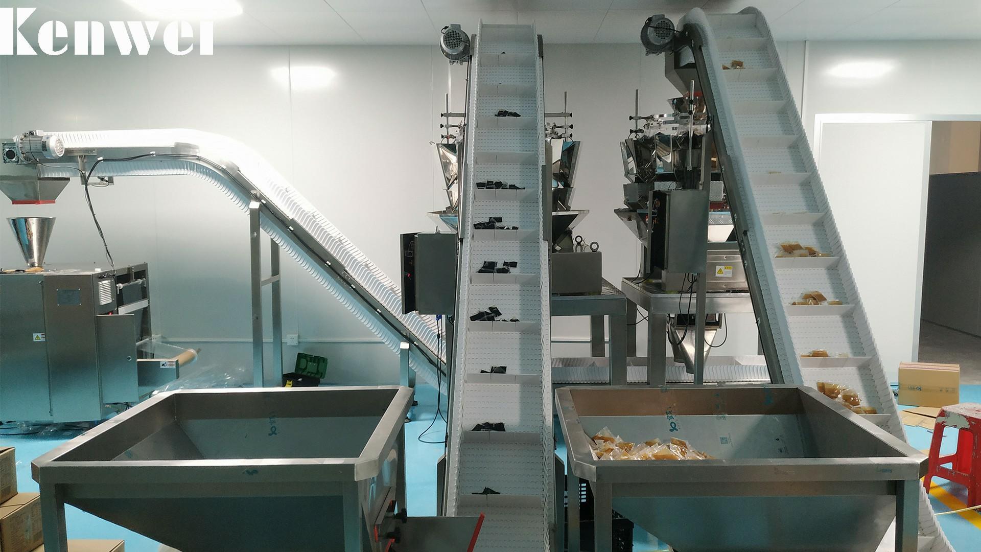 Système de pesage de peseur multi-têtes multiples