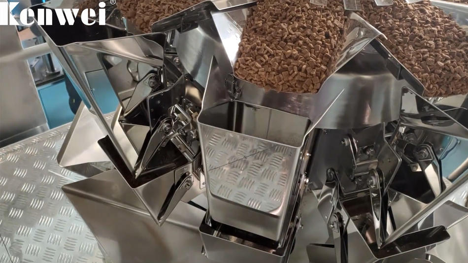 التلقائي 60G القط آلة التعبئة الغذائية الدقة ± 0.5g