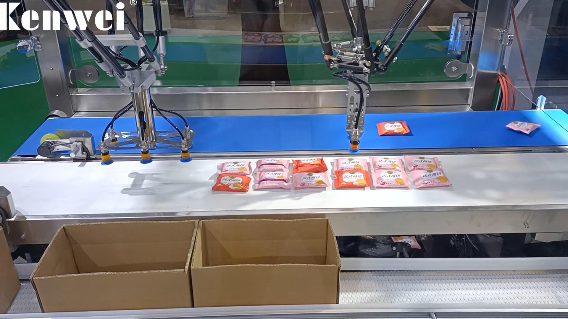 Système d'emballage manipulateur