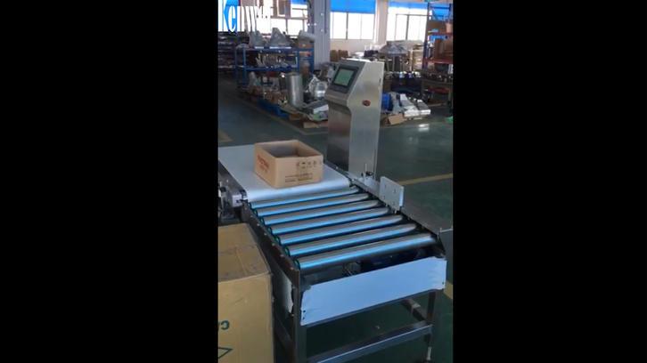 30kg Comprobación de peso con empuje neumática