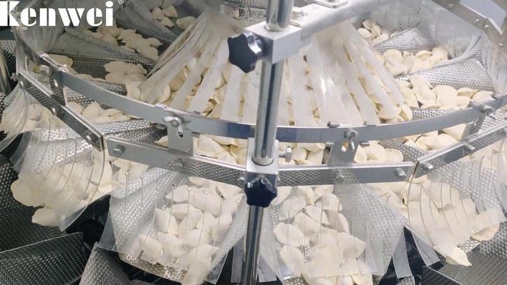 Machine d'emballage entièrement automatique pour aliments congelés