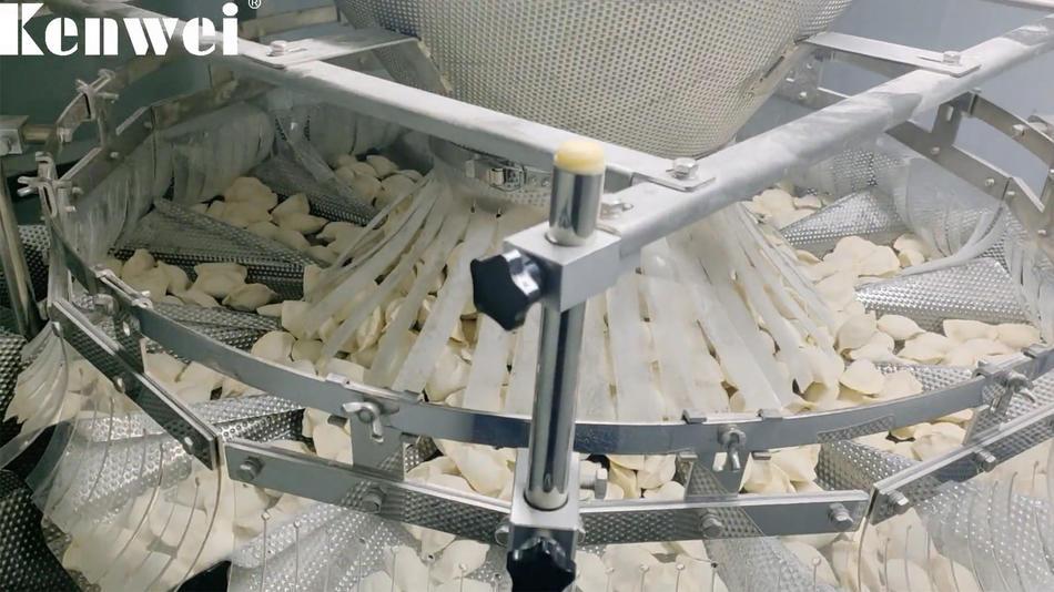 التلقائي متعدد الرؤوس آلة التعبئة الزلابية المجمدة الزلابية
