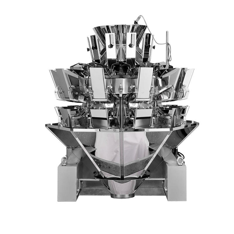10 Heads Leak Proof Multihead Weigher With 3L Hoppers