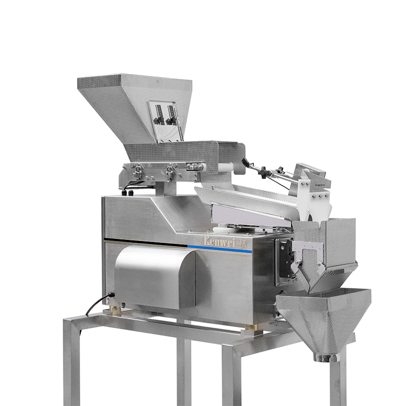product-Kenwei -Two Layers Belt Vibrate Linear Weigher Machine-img