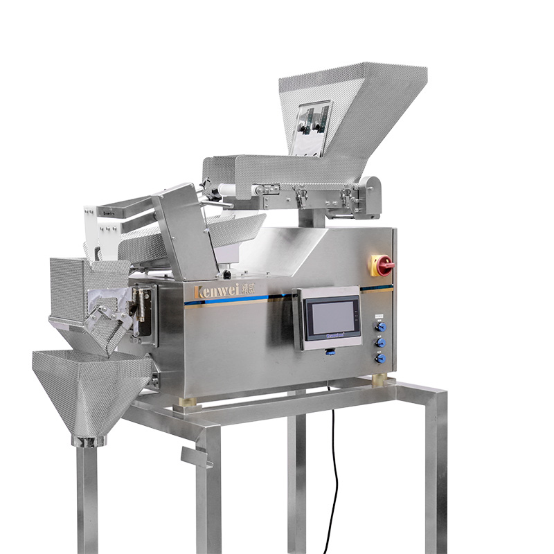 product-Two Layers Belt Vibrate Linear Weigher Machine-Kenwei -img