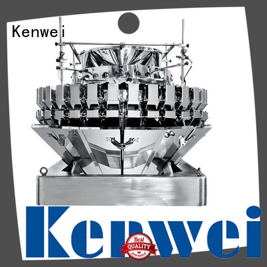Kenwei congelés ensachage machine facile à démonter pour poisson épicé