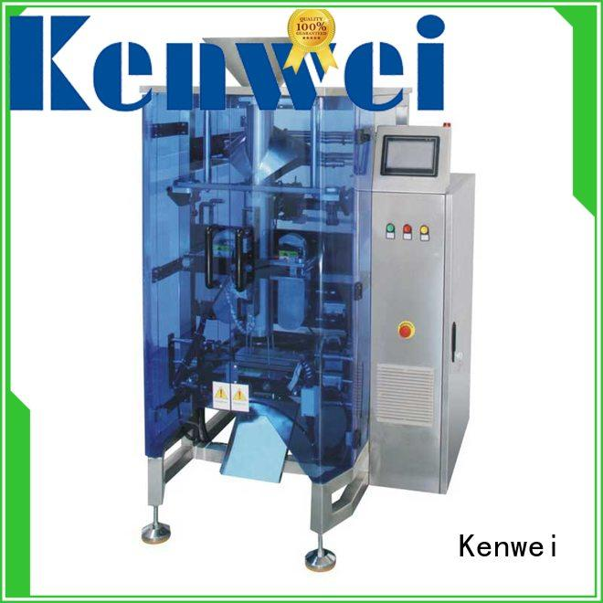Kenwei servo vertical máquina de envasado al vacío en venta para bolsa de almohada