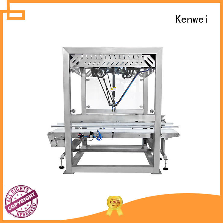 Kenwei manipulator packaging machine with high quality for outdoor