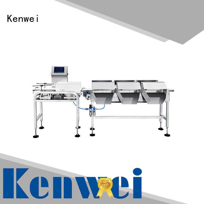 Máquina de embalaje en línea Kenwei fácil de desmontar para fábricas