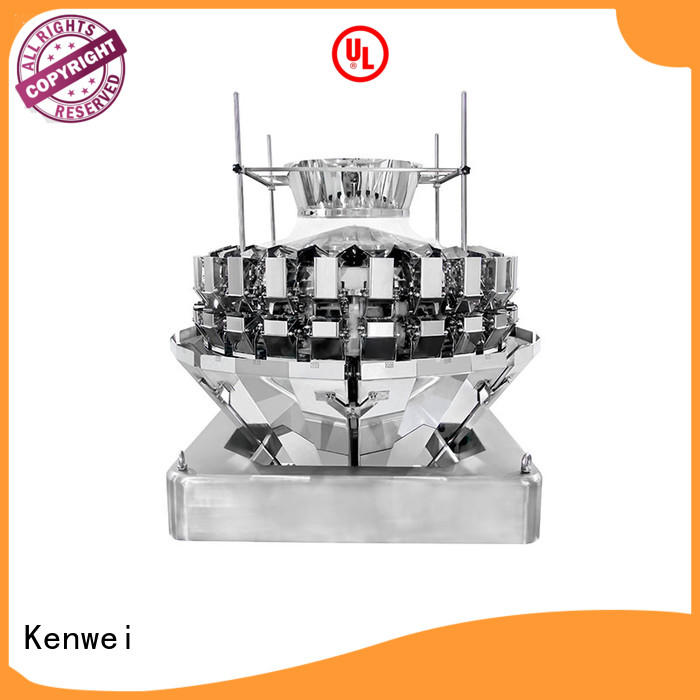 Kenwei alimentación casera máquina de embalaje pesadora para salsa de pato