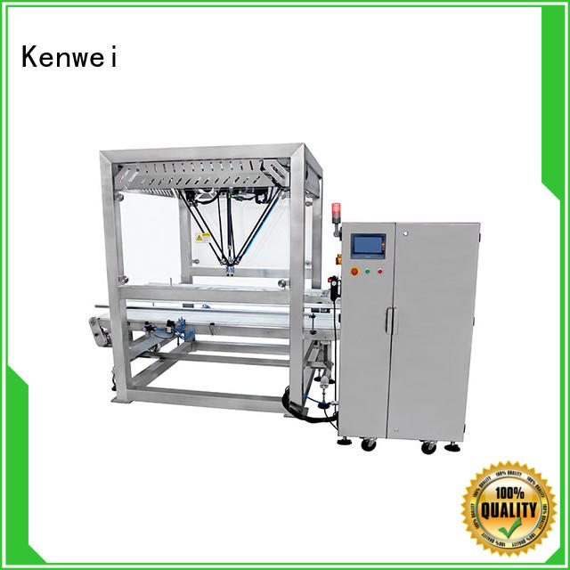 low cost packaging robots compatible Kenwei company