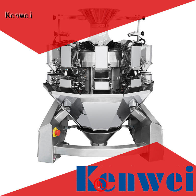 Kenwei manuel alimentaire emballage machine avec de haute qualité pour les matériaux à haute viscosité