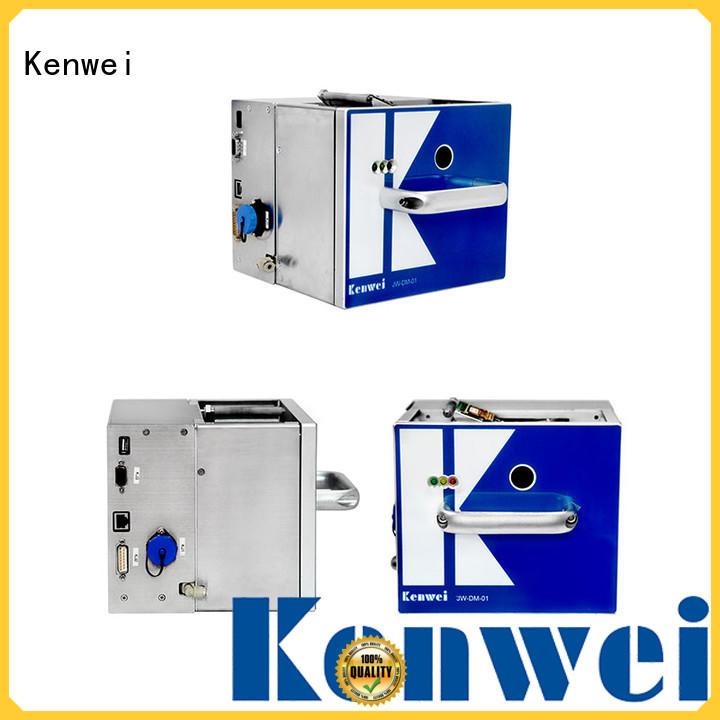 Kenwei direct transfert thermique imprimante facile à démonter pour en aluminium feuille