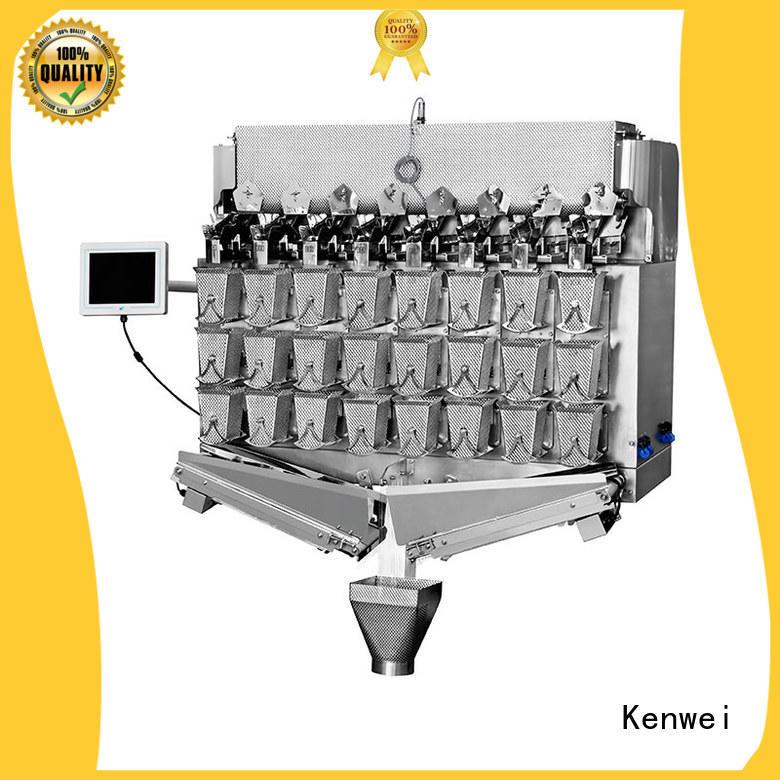 Máquina de embalaje de queso Kenwei fácil de desmontar para materiales con alta viscosidad