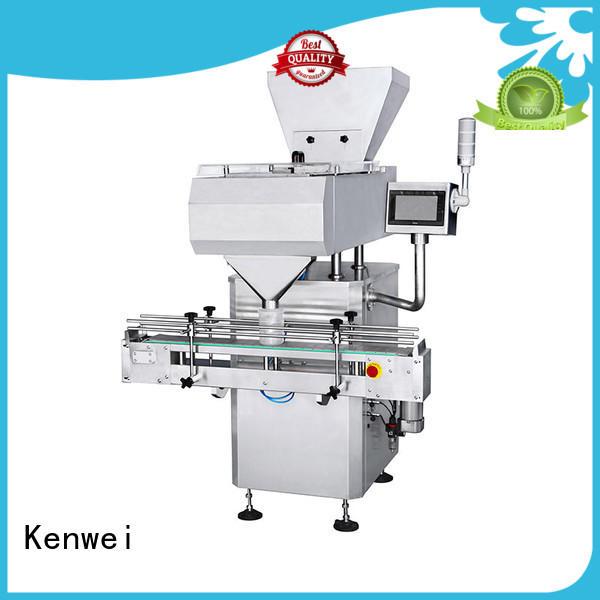 Máquina de envasado de bolsas de canal con alta calidad para alimentos Kenwei