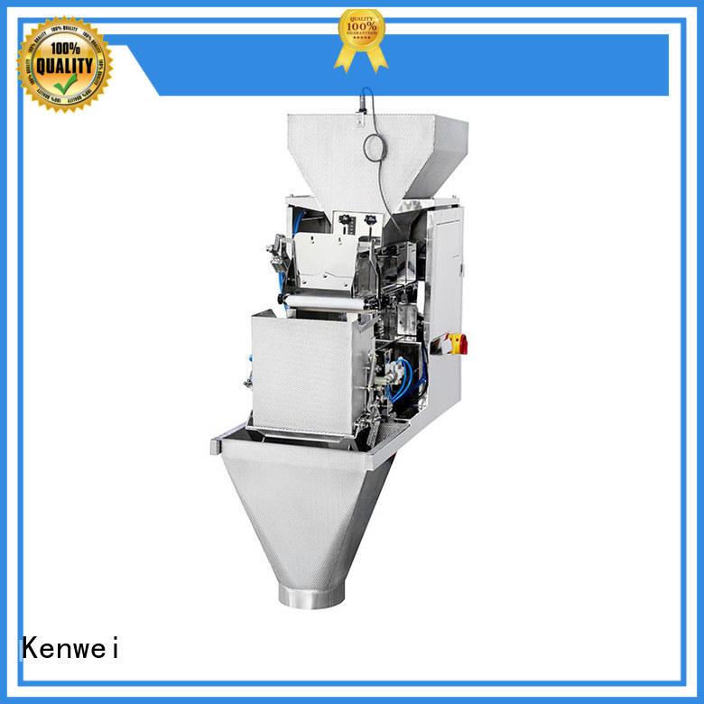 Máquina de embalaje de pesaje de alta calidad para sal industrial Kenwei