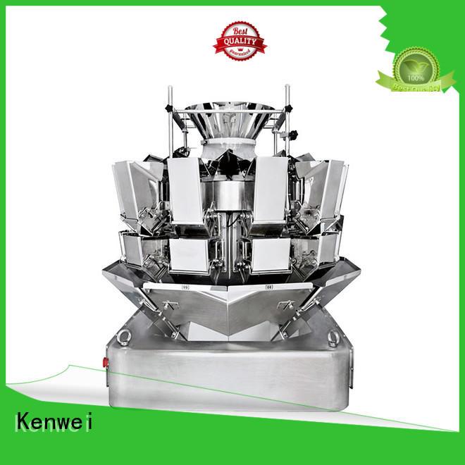 Kenwei emballage sous vide congelé machine avec haute-qualité capteurs pour matériaux de haute viscosité