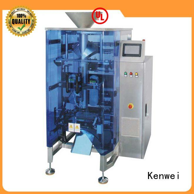 Máquina de embalaje vertical Kenwei fácil de desmontar para bolsa de almohada