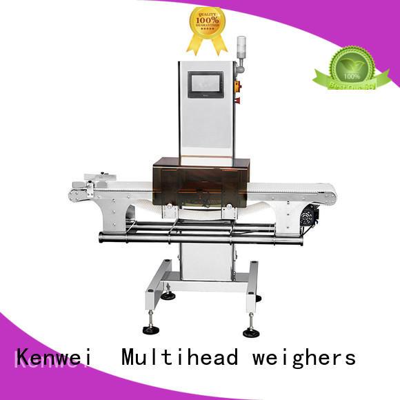 Detektor de metal horizontal Kenwei de alta calidad para la industria del caucho del juguete
