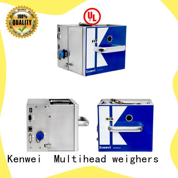 Kenwei transfert thermique imprimante à transfert avec une forte intégrité pour en aluminium feuille