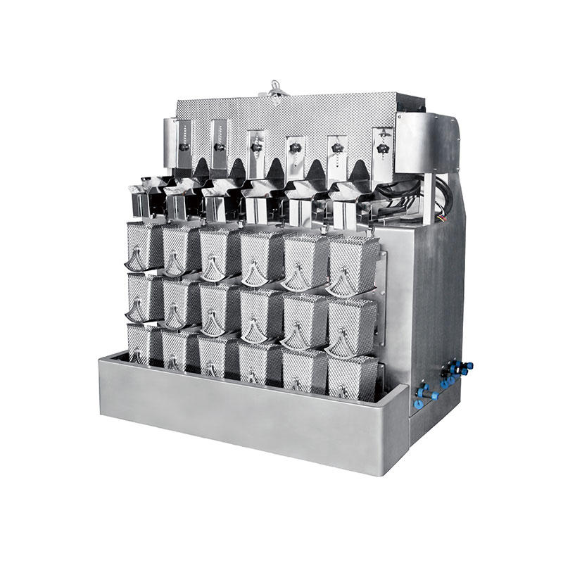 Kenwei -Checkweigher | 4g 6 Heads Three Layers Weigher 15l - Kenwei Multihead Weighers