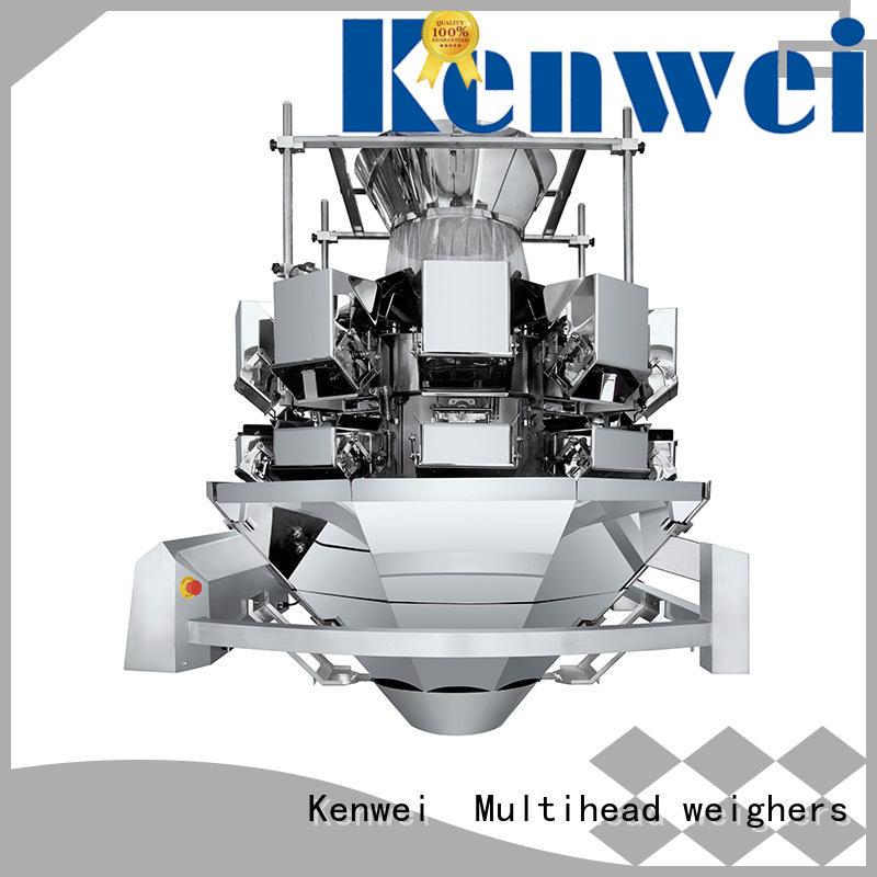 Máquina de envasado al vacío Kenwei en polvo con sensores de alta calidad para materiales con alta viscosidad