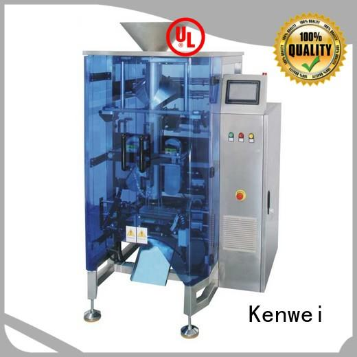 servo vertical filling packaging machine easy to disassemble for gusset bag Kenwei