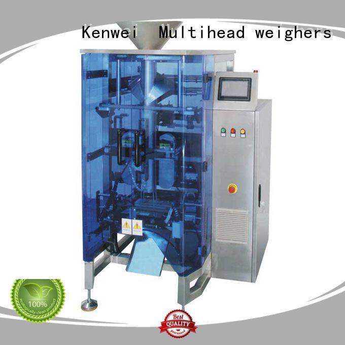Máquina de embalaje vertical Kenwei servo fácil de desmontar para bolsa tipo sello
