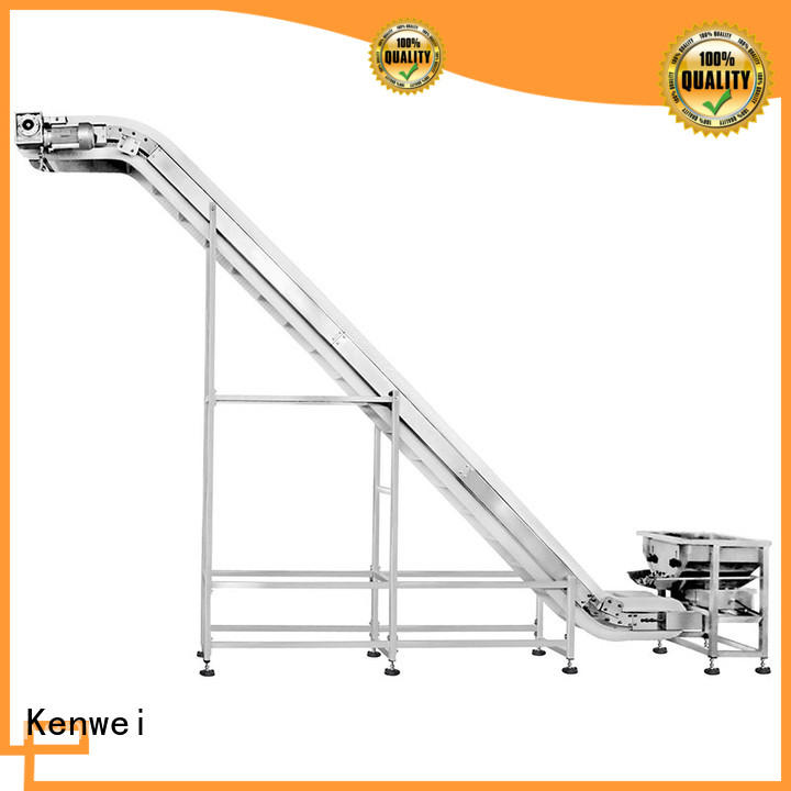 Kenwei accurate conveyor equipment with high quality for plastics