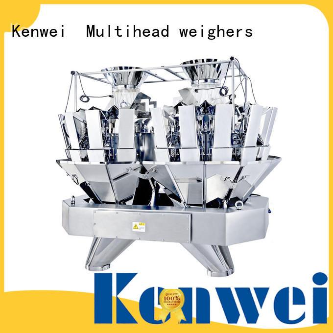 Pesadora multicabezal de alimentación Kenwei fácil de desmontar para materiales con alta viscosidad