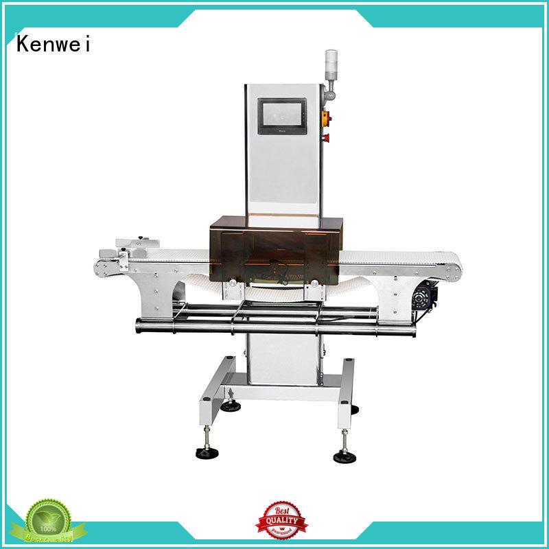 Kenwei en aluminium métal detektor avec haute qualité pour chimique