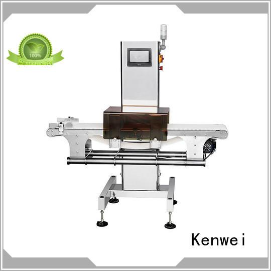 foil aluminum Kenwei Brand meat metal detector factory