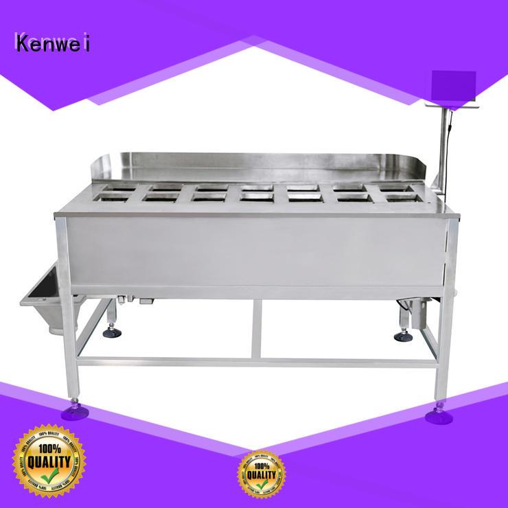 Kenwei pratique emballage sous vide machine de mélange pour les matériaux avec de l'huile