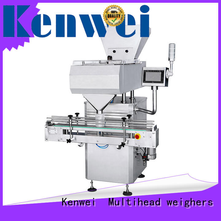 Kenwei counting pill counter machine with stepless adjustment for plastics