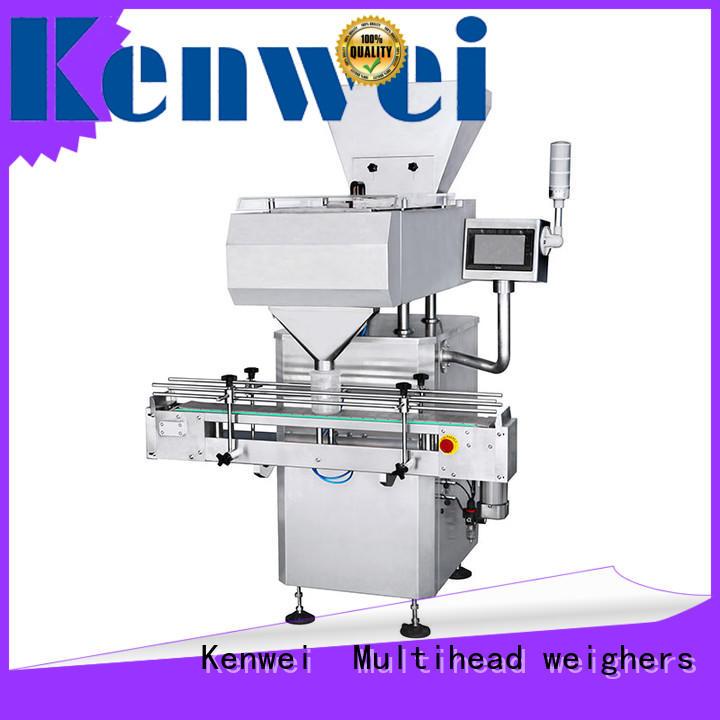 Máquina contador de pastillas Kenwei con ajuste continuo para plásticos