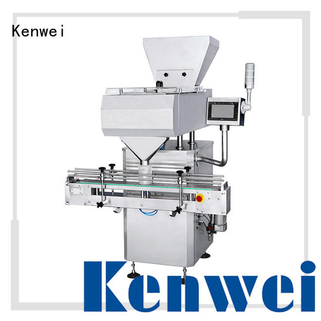 customized energy-saving electronic double channel automatic counting and packing machine Kenwei Brand