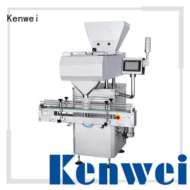 personnalisé comptage automatique à double canal électronique et machine à imprimer électronique Marque Kenwei