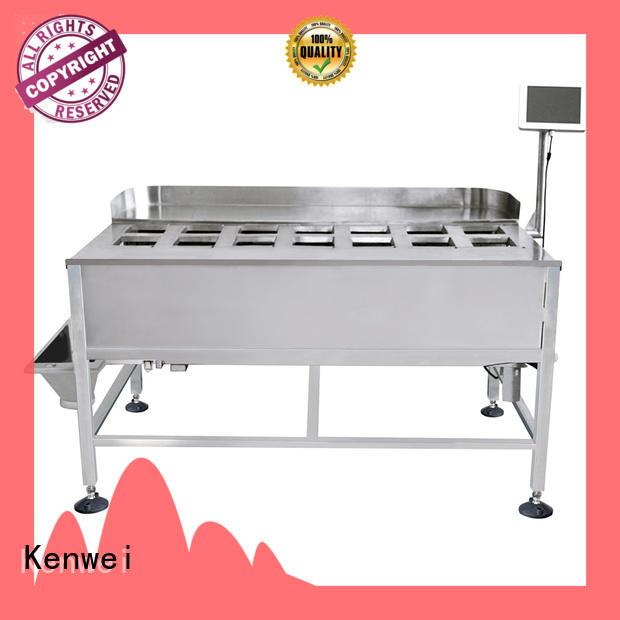 Kenwei aliments congelés poids échelle avec capteurs de haute-qualité pour les matériaux avec de l'huile