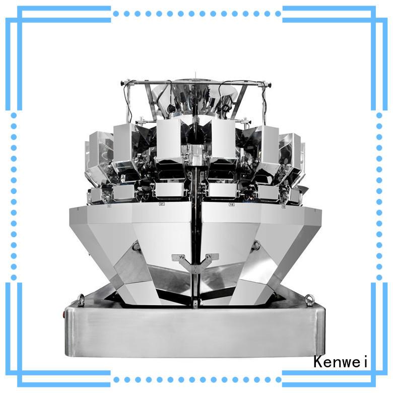 Kenwei trois alimentaire poids machine facile à démonter pour les matériaux avec de l'huile