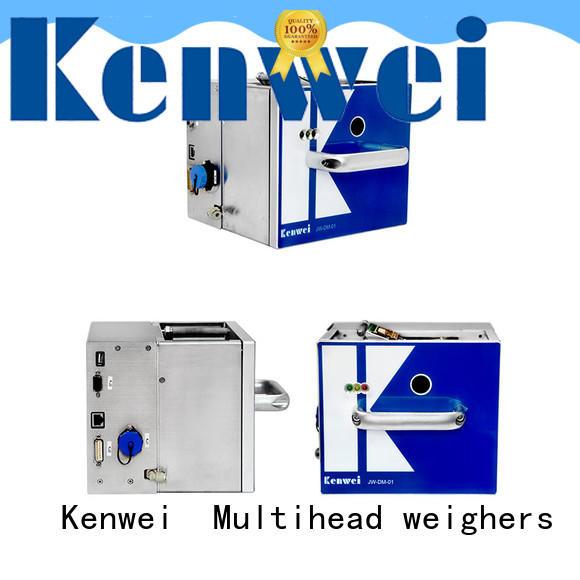 Kenwei flexible thermique imprimante d'étiquettes facile à démonter pour PE
